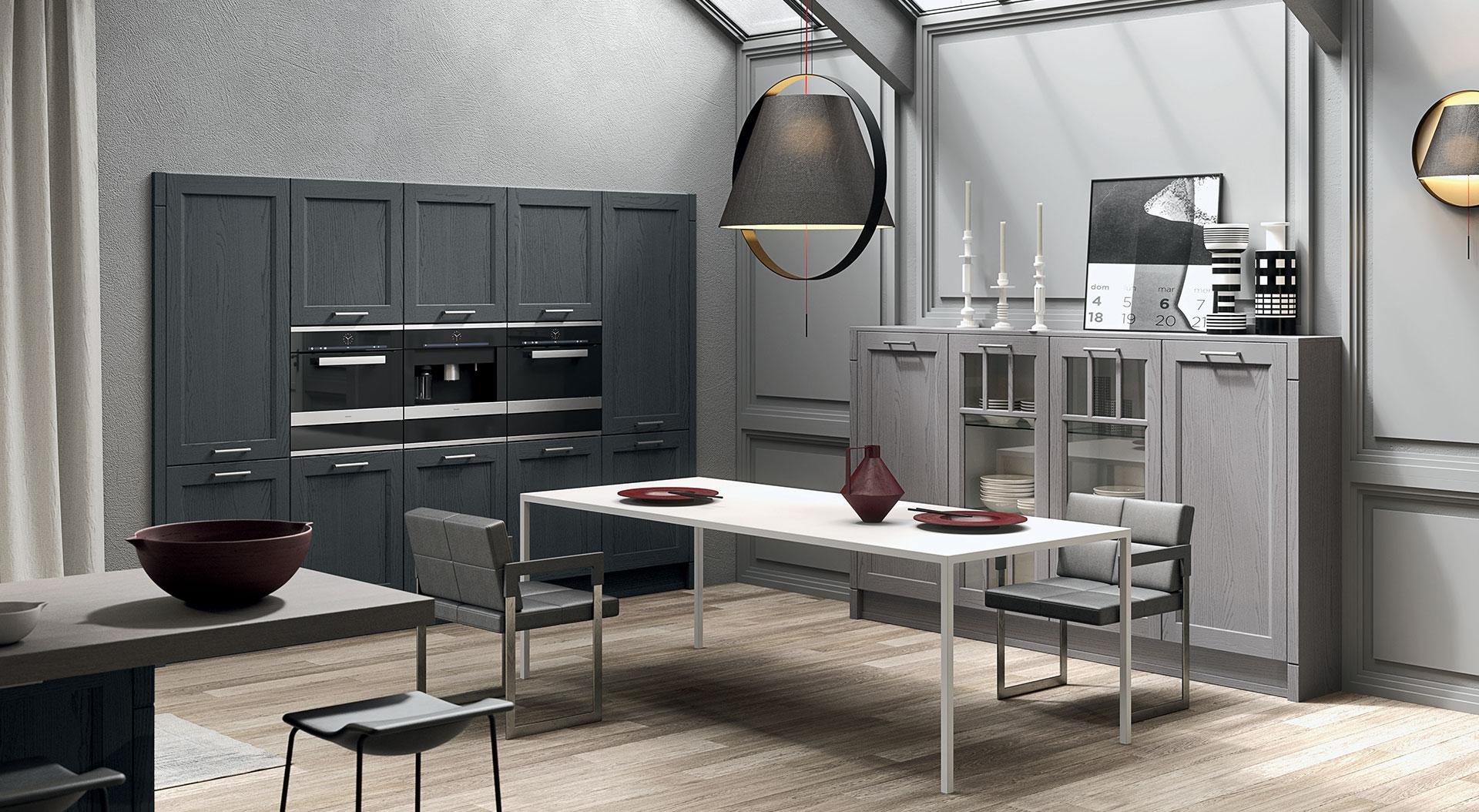 Zebrano cocinas coru a muebles a medida y electrodom sticos - Muebles de cocina coruna ...