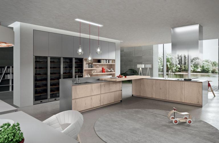 Cocinas Modernas Diseño de Interiores Zebrano Coruña