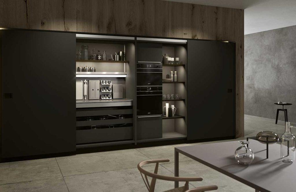 Muebles multifuncionales Zebrano Cocina